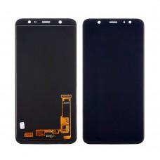 Дисплей  для SAMSUNG  A605 Galaxy A6 Plus (2018) с чёрным тачскрином, с регулируемой подсветкой IPS