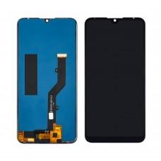 Дисплей  для ZTE  Blade V10 Vita с чёрным тачскрином