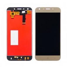 Дисплей  для ZTE  Blade A6 A0620 с золотистым тачскрином