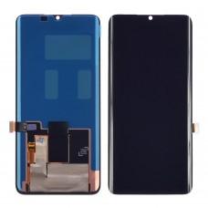 Дисплей  для XIAOMI  Mi Note 10 с чёрным тачскрином OLED