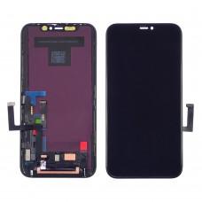 Дисплей  для APPLE  iPhone 11 с чёрным тачскрином