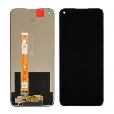Дисплей для Oppo A53 с чёрным тачскрином